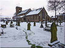 SD7336 : Parish Church of St Mary's & All Saints, Whalley by Alexander P Kapp
