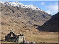NM8691 : Looking up Gleann an Lochain Eanaiche by Keith Cunneen