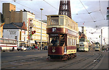 SD3036 : Blackpool: Promenade by Dr Neil Clifton
