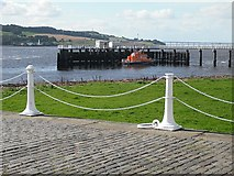 NO4630 : Lifeboat station, Broughty Ferry by Richard Webb