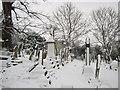 ST5777 : Churchyard, Westbury-on-Trym by George Evans