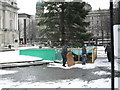 J3374 : Taking down the Christmas Tree, Belfast by Dean Molyneaux