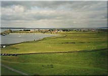 NU1341 : The Ouse from Lindisfarne Castle by David P Howard