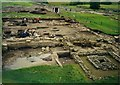 NY7766 : Excavations at Vindolanda Roman Fort by David P Howard