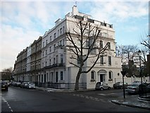 TQ2677 : Grand House at junction of Elm Park Road and The Vale Chelsea by PAUL FARMER