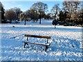 SJ9090 : Bench in Vernon Park by Gerald England