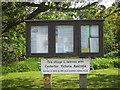SD6279 : Casterton village notice board, Cumbria by Eamon Curry