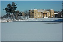 SO8844 : Croome Court in winter by Philip Halling
