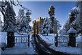 NY8362 : Langley Castle by Peter McDermott