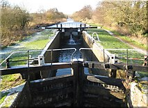 SU4566 : Kennet and Avon Canal: Guyer's Lock by Nigel Cox