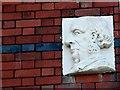 ST5971 : Unusual Sculpture on House Wall by Nigel Mykura