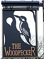 ST9102 : Sign for the Woodpecker by Maigheach-gheal