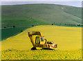 SU0663 : Yellow Machine by Des Blenkinsopp