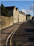 ST8893 : Old Brewery Lane, Tetbury by Derek Harper