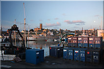SW4730 : Penzance Dock by Bob Jones