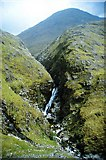 NH0217 : Waterfall on the Allt  Grannda by K  A