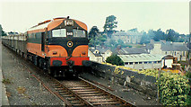 N8767 : Tara Mines train at Navan (2) by Albert Bridge