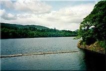 NN9357 : Pitlochry, Loch Faskally seen from Dam by Astrid H
