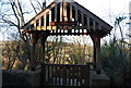 ST0642 : Lych Gate, St Decuman's Holy Well by N Chadwick
