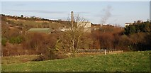 ST0642 : Paper Mill at Watchet by N Chadwick