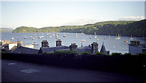 NM5055 : Tobermory Bay and town from the top road by John Rostron