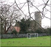 TG4802 : All Saints' church in Belton by Evelyn Simak