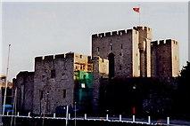 SC2667 : Castletown - Castle Rushen - West side by Joseph Mischyshyn