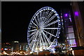 SJ8398 : Giant Ferris Wheel, Exchange Square by N Chadwick