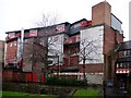 NZ2464 : The rear of Norden House, Stowell Street from Blackfriars by Andrew Curtis