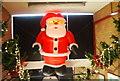 SD8010 : Bury Bolton Street Station - Christmas decorations (2) by N Chadwick