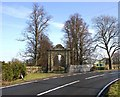 SP2556 : Archway at rear entrance to Charlecote Deer Park by David P Howard