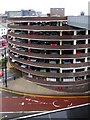 NZ2464 : Multi-storey car park, Percy Street by Andrew Curtis
