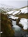 NY3427 : River Glenderamackin by Michael Graham
