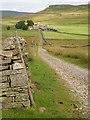 SD9486 : Roman Road - Carpley Green Farm - Addlebrough by Tom Howard