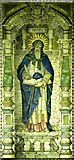 TQ2882 : Holy Trinity, Great Portland Street, London W1 - Mosaic by John Salmon