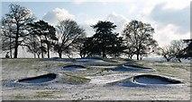 SX9063 : Bunkers, Abbey Park, Torquay by Derek Harper