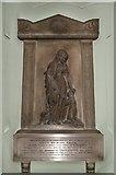 TQ2882 : Holy Trinity, Great Portland Street, London W1 - Wall monument by John Salmon