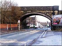 SD7807 : Spring Lane Railway Bridge by David Dixon