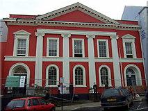SM9515 : Shire Hall in Regency red by ceridwen