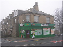 SE1437 : Newsagents - Saltaire Road by Betty Longbottom