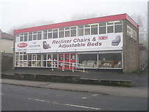 SE1437 : Hamiltons Chair Centre - Saltaire Road by Betty Longbottom