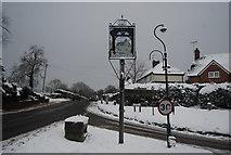 TQ5643 : Village Sign, Bidborough by N Chadwick