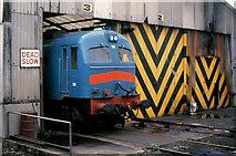 J3475 : Metrovick locomotive, Belfast by Albert Bridge