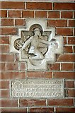 TQ2284 : St Andrew, High Road, Willesden, London NW10 - Memorial by John Salmon