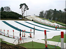 TG2407 : Slopes at Norfolk Ski Club by Evelyn Simak