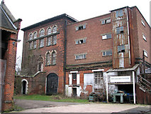 TG2407 : The old pumping station in Trowse Millgate by Evelyn Simak