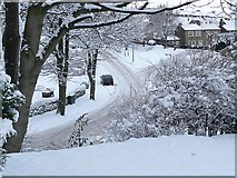 SE1321 : Delf Hill after the snowfall by Humphrey Bolton