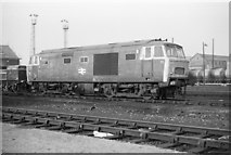 TQ2182 : Hymek class number 7029 at Old Oak Common depot by Rob Purvis