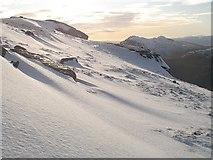 NN2507 : Western slopes of Beinn Ime by Richard Webb