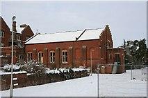 SU5985 : Theatre in the snow by Bill Nicholls